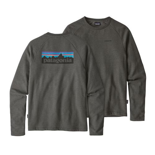 Patagonia Lightweight P-6 Crew Sweatshirt Forge Grey